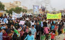 مردم شهرک طالقانی در راهپیمایی ۲۲ بهمن ۹۶ حماسه آفریدند / حضور مردم تماشایی بود