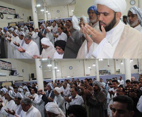 نماز عید قربان در شهرک طالقانی برگزار گردید