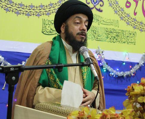 حجه الاسلام و المسلمین سید سلمان هاشمی : وحدت به معنای متحد شدن بر علیه طاغوت است