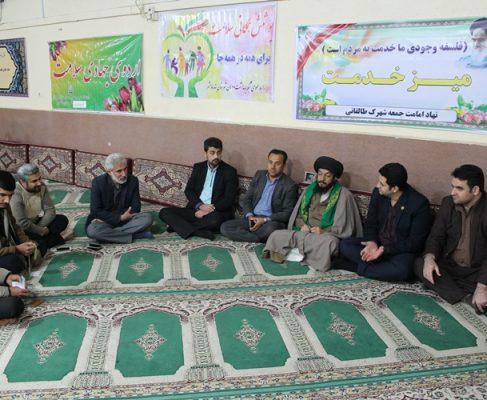 میز خدمت برای نخستین بار در استان خوزستان در شهرک طالقانی برگزار شد