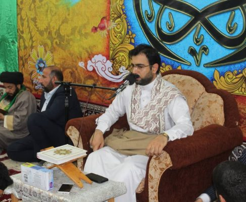 محفل انس با قرآن کریم در شهرک طالقانی برگزار شد