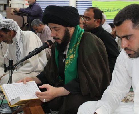 دعای عرفه و نماز عید قربان شهرک طالقانی در قاب تصویر