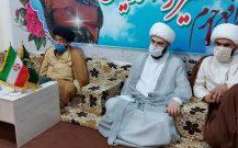 حضور حجه الاسلام و المسلمین قمی ریاست سازمان تبلیغات کشور در شهرک طالقانی